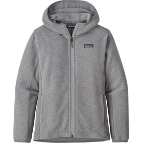 Patagonia Lightweight Better Sweater Hoody Dames, feather grey